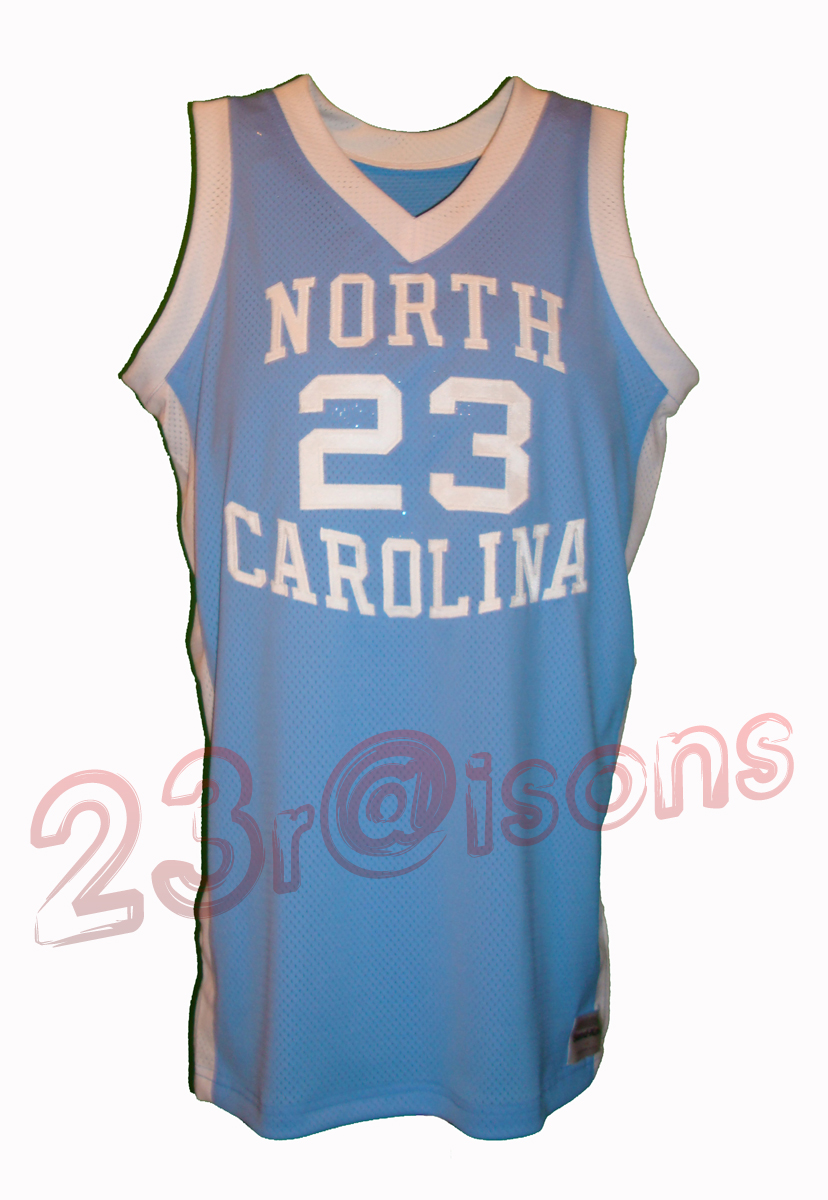 9eda943951f ... Blue Jersey --198182 Procut North Carolina Away - Sand Knit Medalist 40  Mens North Carolina Tar Heels 23 Michael Jordan ...